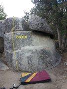 Rock Climbing Photo: Tiptoe Dancer