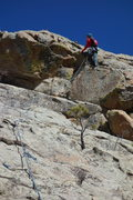 Rock Climbing Photo: Dede on P2 Summit Fever.