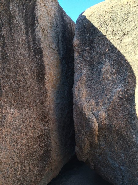 Rock Climbing Photo: Milk Money is the chimney and Borden Arete forms t...