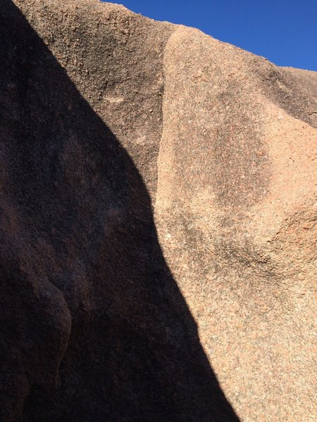 Rock Climbing Photo: Skim on Lactose Boulder