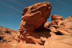 Rock Climbing Photo: the roof