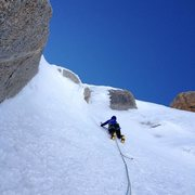 Rock Climbing Photo: Contamine Mazaud, Mont Blanc Du Tacul