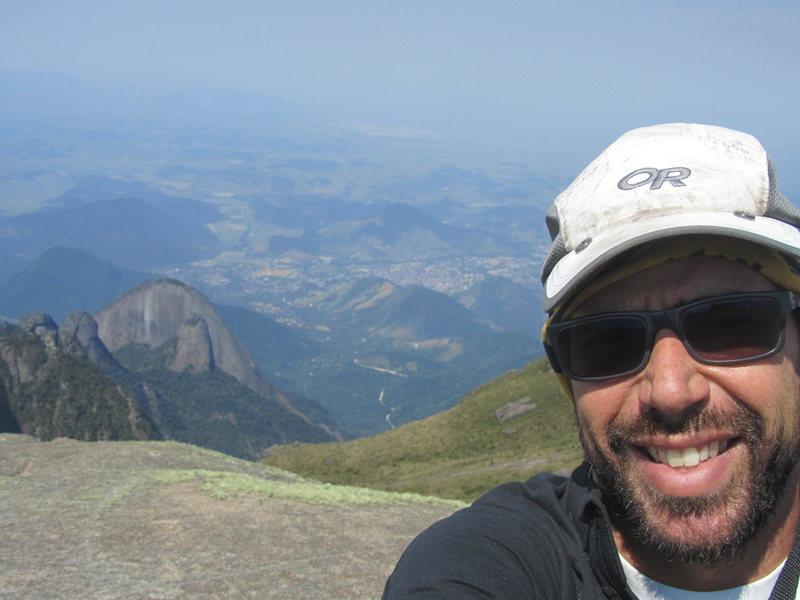 Rock Climbing Photo: On top of a mountain