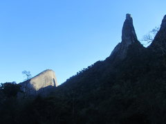 Rock Climbing Photo: Finger of God and Escalavrado.