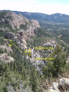 Rock Climbing Photo: Photo copied from the SSP page, view from Elk Fall...