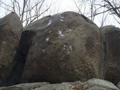 Rock Climbing Photo: Slippery when wet V5/6