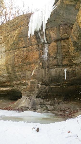 Rock Climbing Photo: The Fang?  Climb behind Tonti