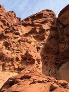 """Rock Climbing Photo:  """"Mission to Mars"""" Sedona,Az"""