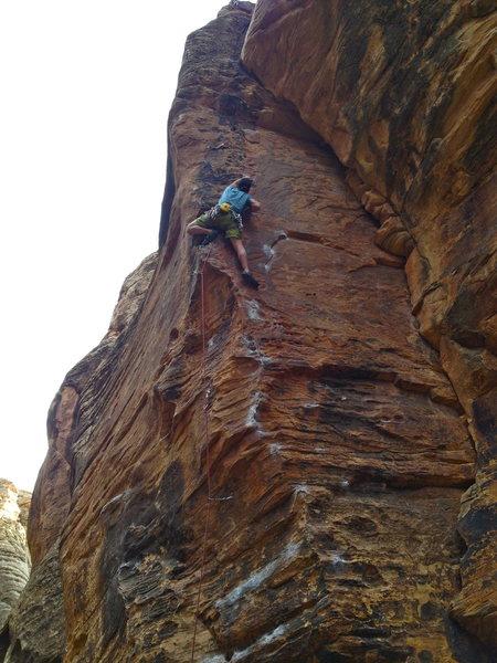 "Rock Climbing Photo: Winslow,Az ""Has Bro"""