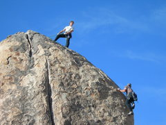Rock Climbing Photo: Too Strong barking orders on the difficult Planet ...