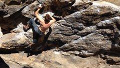 Rock Climbing Photo: Mid-winter sunshine.