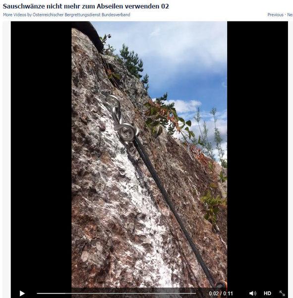 Rock Climbing Photo: Ram horn test