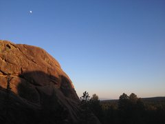Mosaic Rock & The Moon Rise
