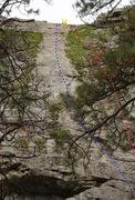 Rock Climbing Photo: I Will Fight No More Forever topo