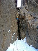 Rock Climbing Photo: Pitch 2, BotB.