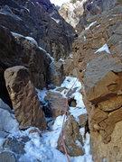 Rock Climbing Photo: Pitch 4, BotB.