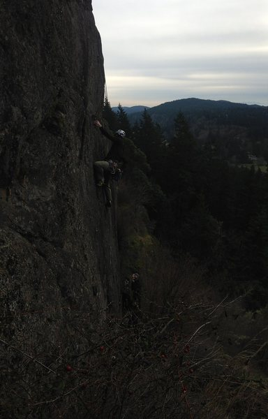 Rock Climbing Photo: Hutch on Rouche Moutorne TR