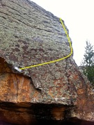 Rock Climbing Photo: Overview of Part 3.