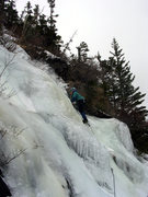 Rock Climbing Photo: Deb starts up feeling healthy again.