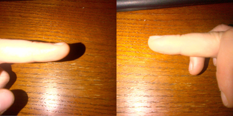 My special finger, guess which one