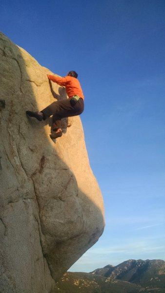 Rock Climbing Photo: Daniel Baggenstos' first ascent of Mayflower