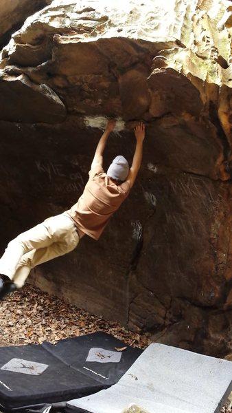 Rock Climbing Photo: Swinging on Swing Set
