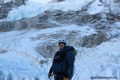 Rock Climbing Photo: Icefall