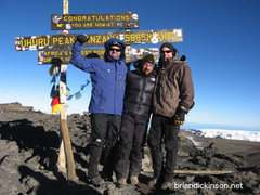 Rock Climbing Photo: Kilimanjaro