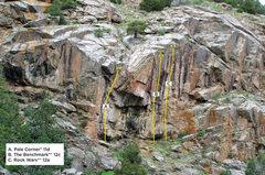 Rock Climbing Photo: Last Turn Crag 1.