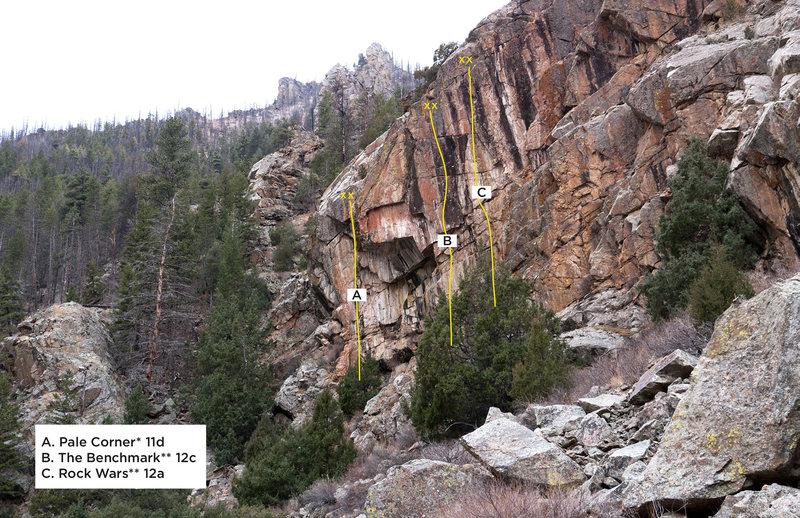 Rock Climbing Photo: Last Turn Crag 2.