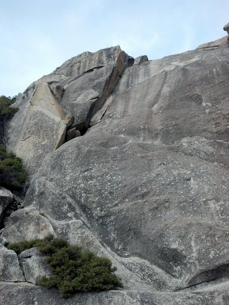 Rock Climbing Photo: Crepes Corner