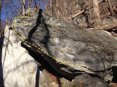 One of the East Side Boulders