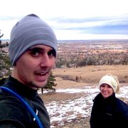 Photo after hiking flat irons.