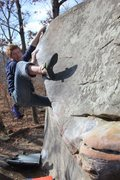 Rock Climbing Photo: The mollusk