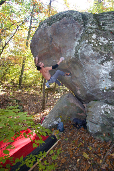 Rock Climbing Photo: Jason Kehl on Atlas. photo by Abbie Smith