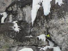 Rock Climbing Photo: Talisman's 2nd pitch.