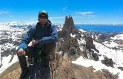 Rock Climbing Photo: Summit of Aguja Campanile