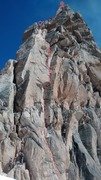 Rock Climbing Photo: At the base of Buch-Goin, below the alternate star...