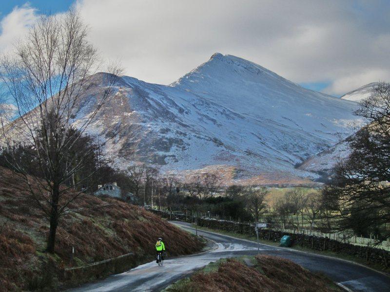 Rock Climbing Photo: Winter Biking Feb 2 2015