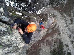 Rock Climbing Photo: Last pitch of the Whitney Gilman Ridge