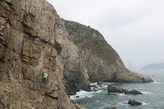 Rock Climbing Photo: Coastal climbing at Cape Collinson.