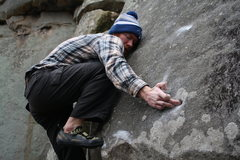Rock Climbing Photo: Looking at the hand is way more painful than what ...