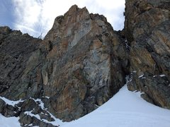Rock Climbing Photo: The bottom of the gully
