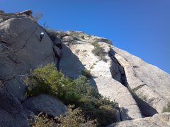 Rock Climbing Photo: Furthest Left (East) portion of the Sven Slab. It ...