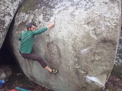 Rock Climbing Photo: Catching the edge...
