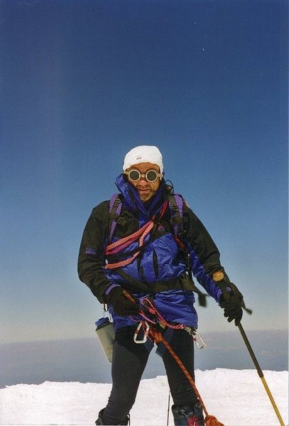 Rock Climbing Photo: Summit of Mt Ranier. 14 hours up and down from car...