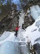 "Rock Climbing Photo: ""Frozen in the Headlights"", one of the f..."