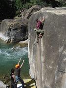 Rock Climbing Photo: Rob on The Angler