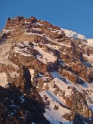 Rock Climbing Photo: Looking at the upper portion of Curtis Ridge.  The...
