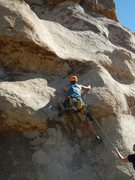 Rock Climbing Photo: This is actually the start to Fun with a Gun, but ...